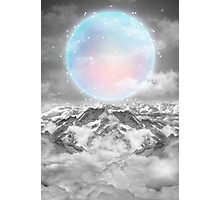 Places Neither Here Nor There (Guardian Moon) Photographic Print