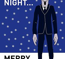 Doctor Who Silents Xmas Card by mjfouldes