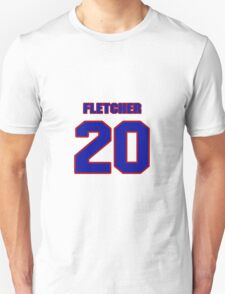 National baseball player Scott Fletcher jersey 20 T-Shirt