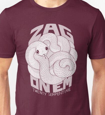 Zag On 'Em Mono Unisex T-Shirt