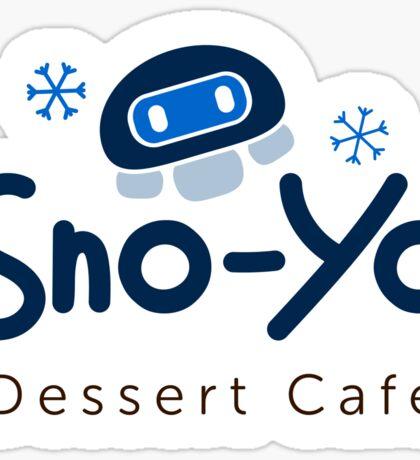 Mei's Sno-Yo Dessert Cafe Sticker