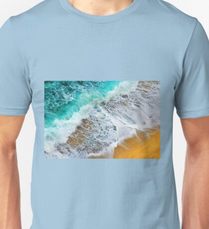 Waves abstract Unisex T-Shirt