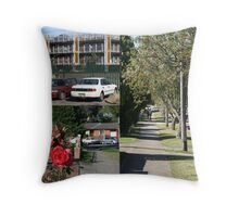 Location, location! Close to public transport.  Throw Pillow