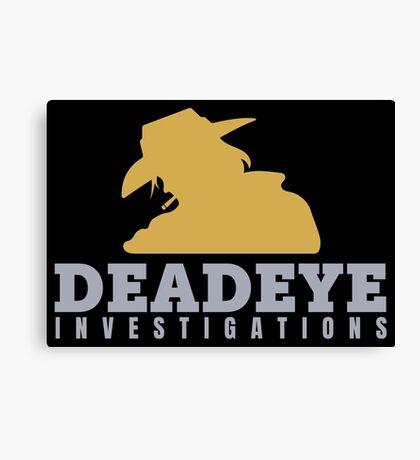McCree's Deadeye Investigations Canvas Print