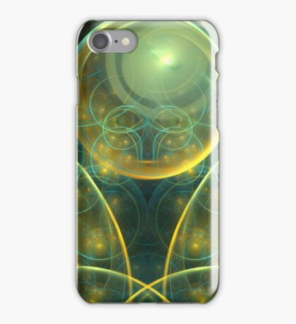 Aqua Sun Spheres iPhone Case/Skin