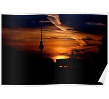 Berliner Fernsehturm (TV Tower ) Poster