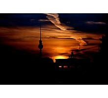 Berliner Fernsehturm (TV Tower ) Photographic Print