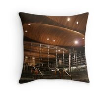 Welsh Assembly Throw Pillow
