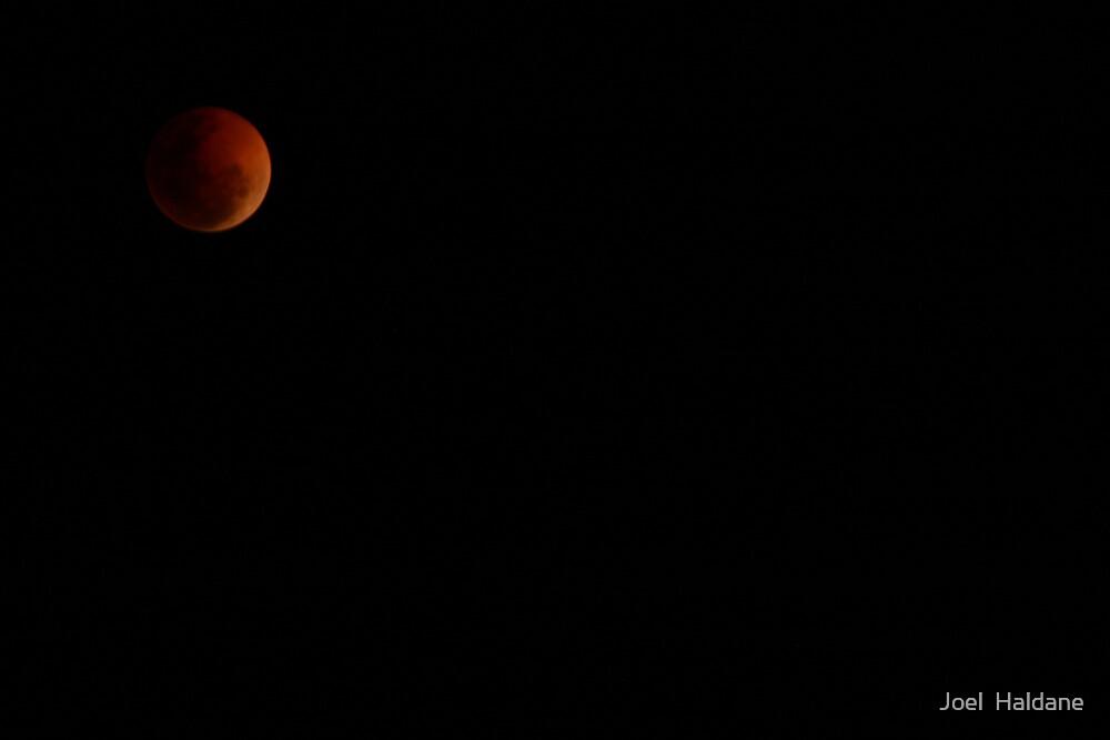Red Moon II by Joel  Haldane