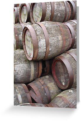 Aging Casks by Wrigglefish