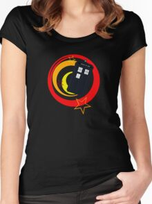 Police Box Women's Fitted Scoop T-Shirt