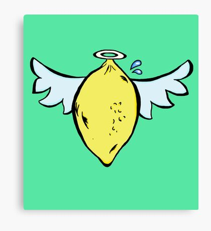 Lemon Heaven Canvas Print