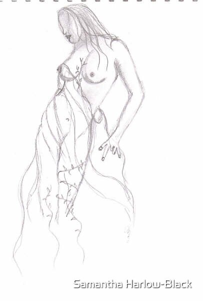 Myst Sketch by Samantha Harlow-Black
