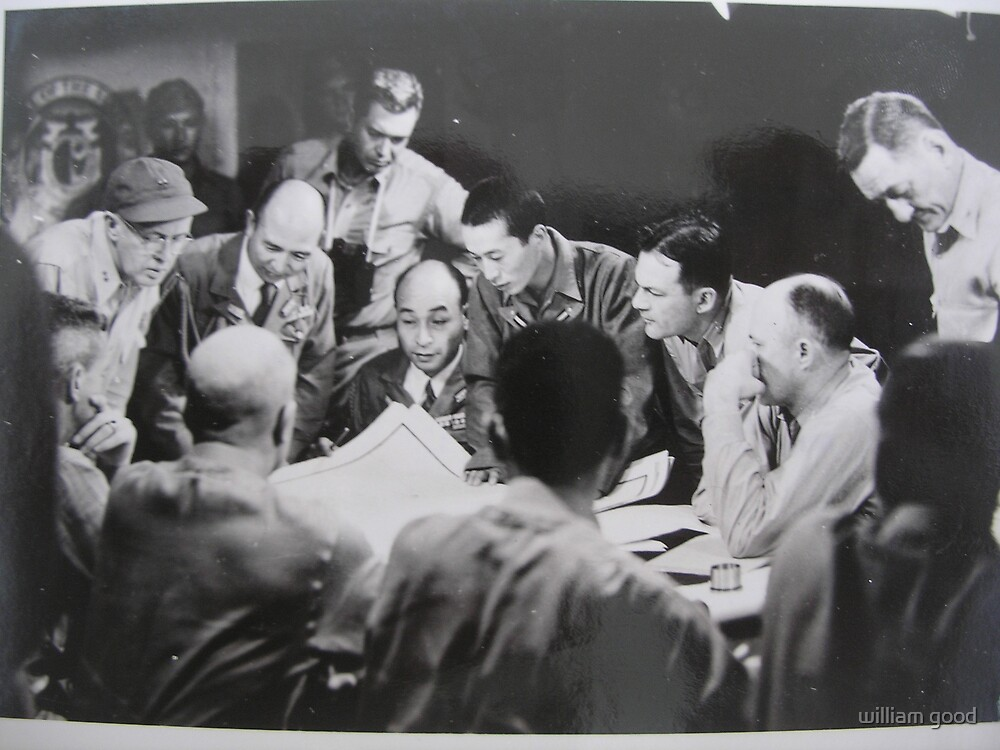 my father's photo from WW II #4 by william good