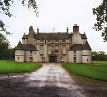 Leith Hall Facade - (Huntly, Aberdeenshire, Scotland) by Yannik Hay