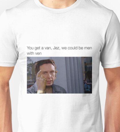 Peep Show - Men with Ven Unisex T-Shirt