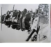 my father's photo from WW II #14 Photographic Print