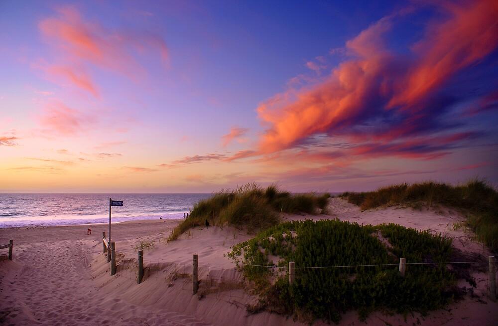 City beach sunset by alistair mcbride