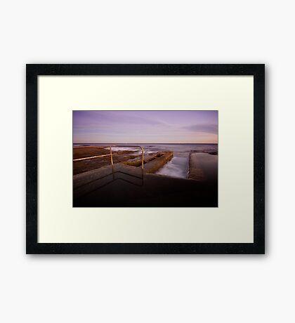 Newcastle Ocean Baths 6 Framed Print
