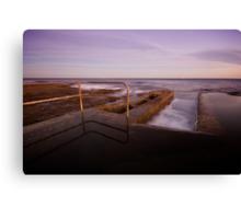 Newcastle Ocean Baths 6 Canvas Print