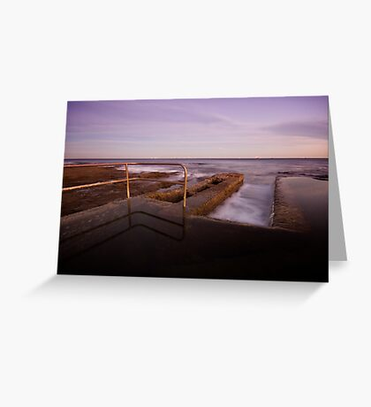 Newcastle Ocean Baths 6 Greeting Card