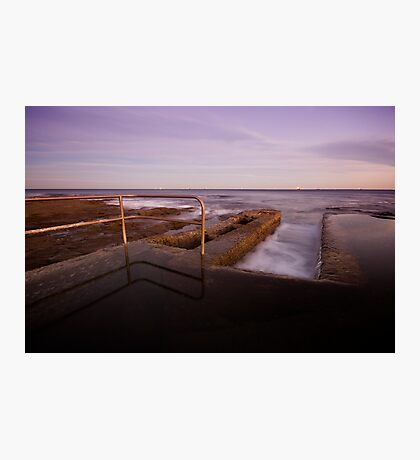 Newcastle Ocean Baths 6 Photographic Print