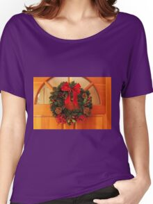 Christmas Wreaths Women's Relaxed Fit T-Shirt