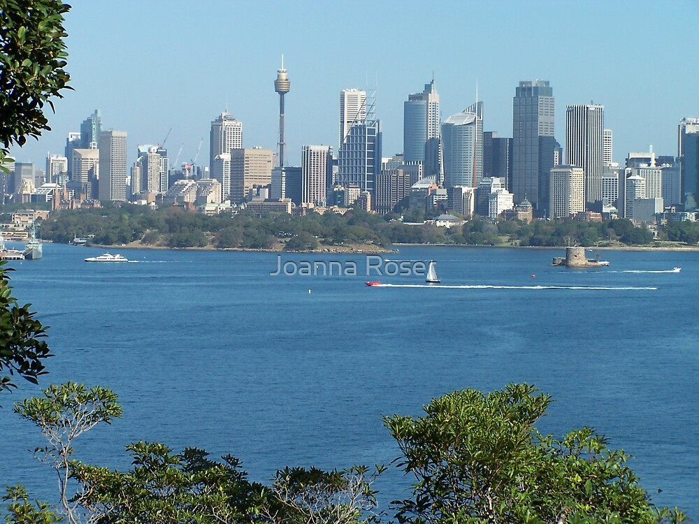 Sydney view. by Joanna Roser