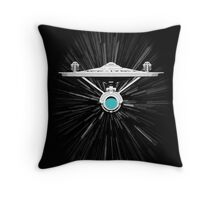Warp Speed! Throw Pillow