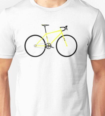 Yellow Road Bike Unisex T-Shirt