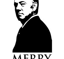 Frank Underwood Merry Christmas by toughandtender