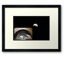 And STILL we watch the sky.  Framed Print
