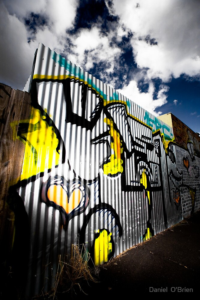 Graffiti  by Daniel  O'Brien
