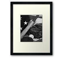 American Pastime Framed Print