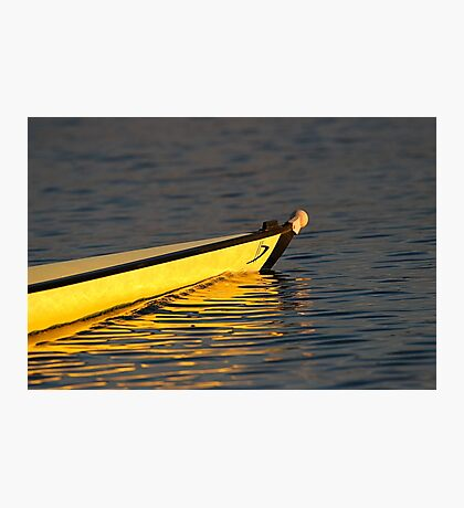 4- rowing boat Photographic Print