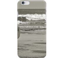 Surfs Up; even in November iPhone Case/Skin