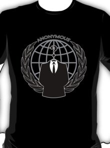 Anonymous Logotype T-Shirt
