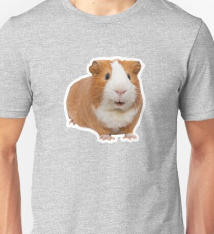 red guinea pig Unisex T-Shirt
