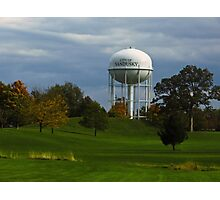 Sandusky Ohio - Water Tower Photographic Print