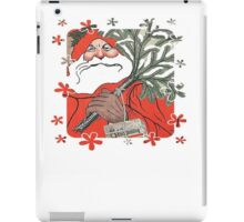 A Traditional Merry Christmas Greeting Card iPad Case/Skin