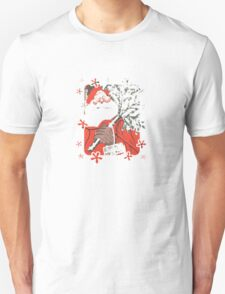 A Traditional Merry Christmas Greeting Card T-Shirt