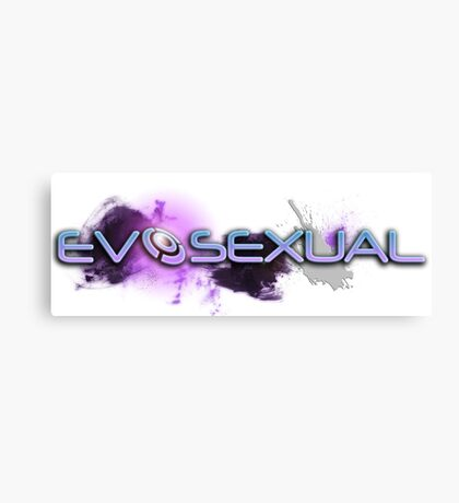 Evosexual Canvas Print