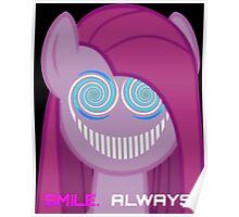 Pinkie Pie - The Smiler Blue Poster