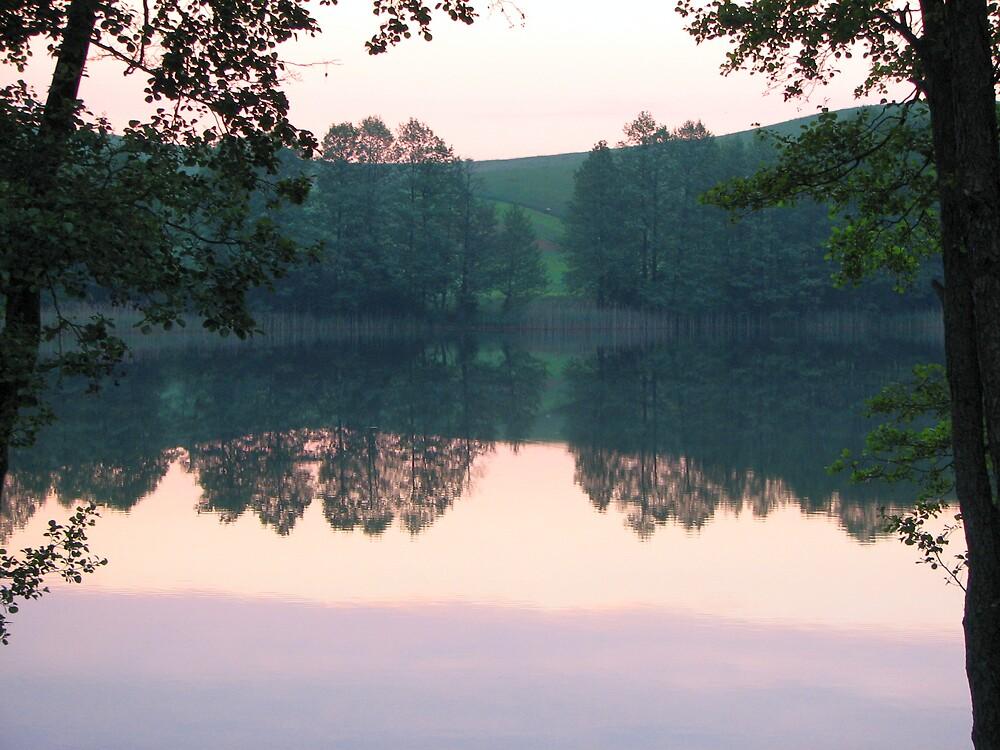 Sunrise, Lithuania by lewraz