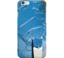 Blue Ink - Letterpress Printing iPhone Case/Skin