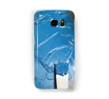 Blue Ink - Letterpress Printing Samsung Galaxy Case/Skin