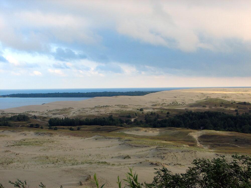 Nida, Dunes, Lithuania by lewraz