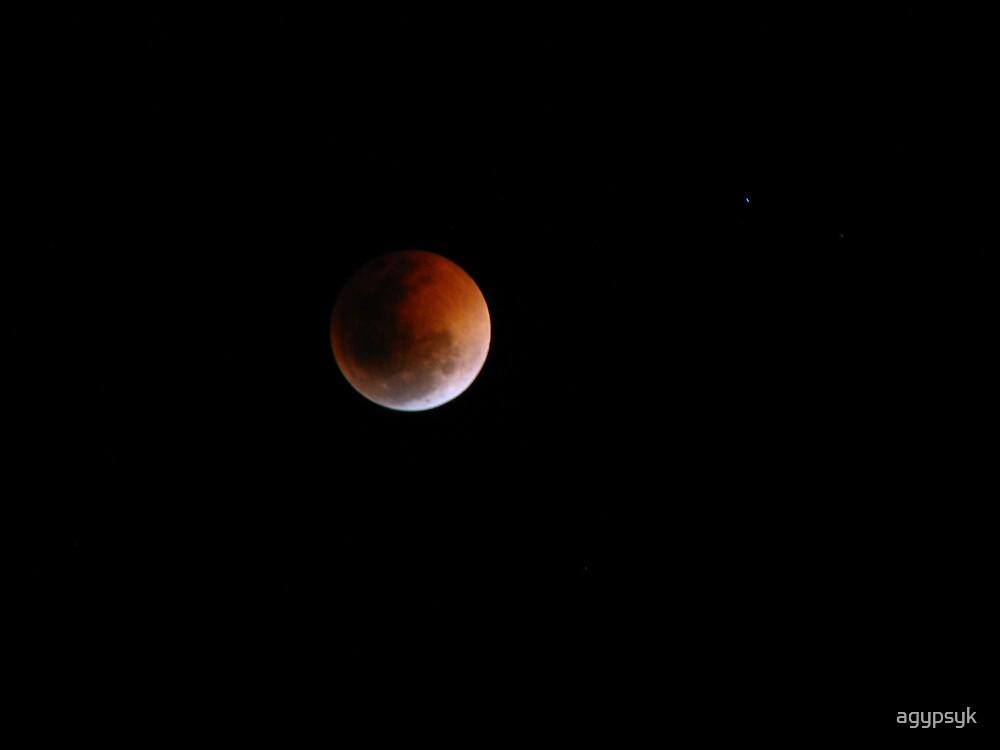 Luna eclipse again!!! by agypsyk
