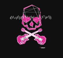Rocks Dead - Pink Womens Fitted T-Shirt