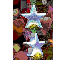 Christmas decorative star Photographic Print